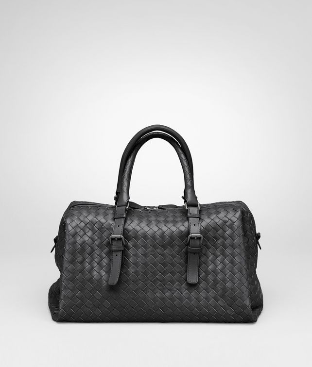 BOTTEGA VENETA Nero Intrecciato Light Calf Bag Top Handle Bag D fp