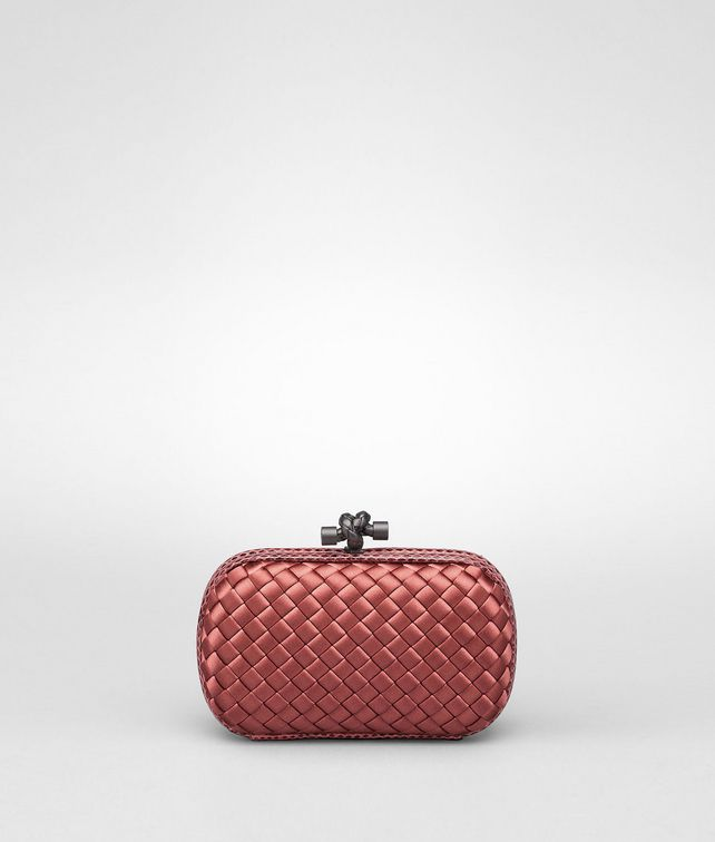 BOTTEGA VENETA KNOT CLUTCH IN BOUCHER INTRECCIO IMPERO, AYERS DETAILS Clutch Woman fp