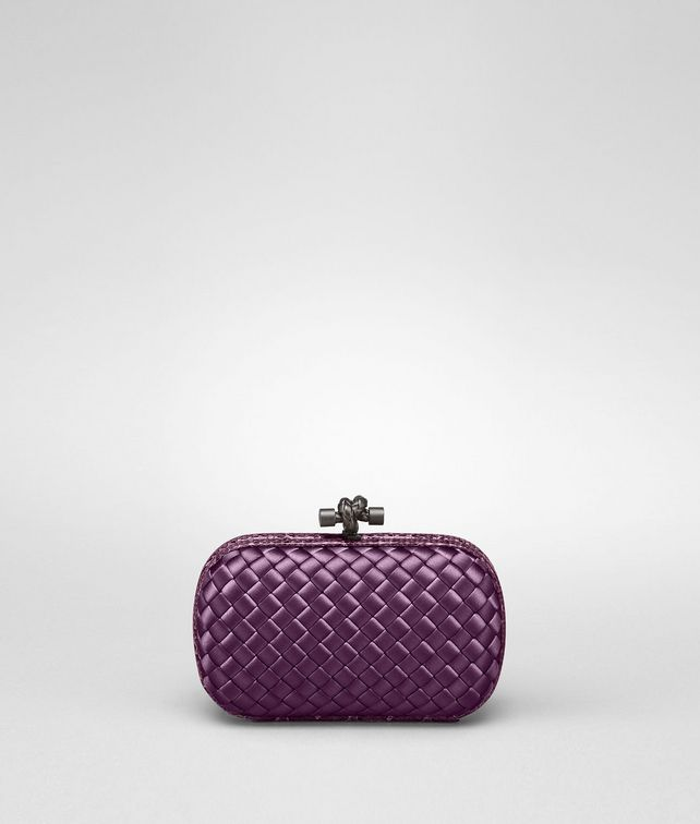 BOTTEGA VENETA KNOT IN COROT INTRECCIO IMPERO, AYERS DETAILS Clutch Woman fp