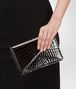 BOTTEGA VENETA Clutch Nera in Shiny Crocodile Pochette D ap