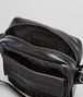 BOTTEGA VENETA Umhängetasche aus VN-Leder Intrecciato Nero Messenger Tasche U dp