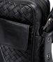 BOTTEGA VENETA Nero Intrecciato VN Cross Body Bag Messenger Bag U ep