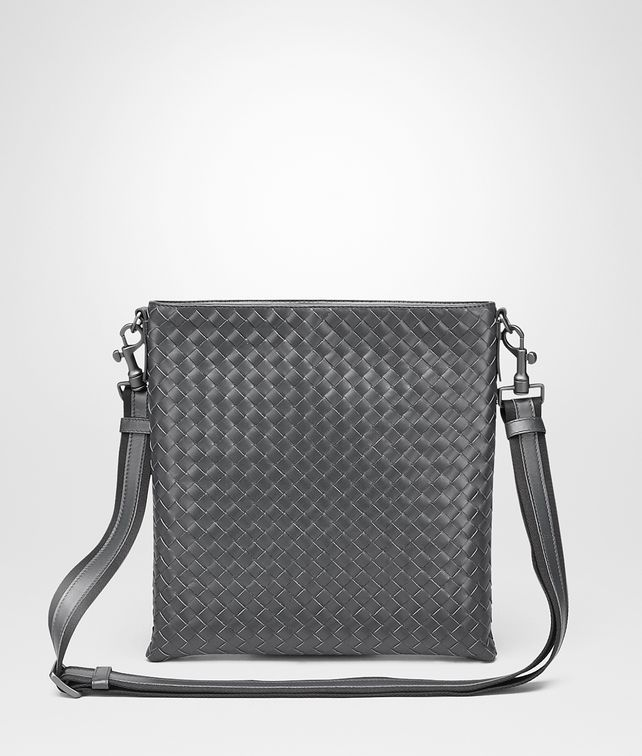 BOTTEGA VENETA Ardoise Intrecciato VN Cross Body Bag Messenger Bag U fp