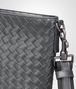 BOTTEGA VENETA Cross Body Bag aus VN-Leder Intrecciato Ardoise Messenger Tasche U dp