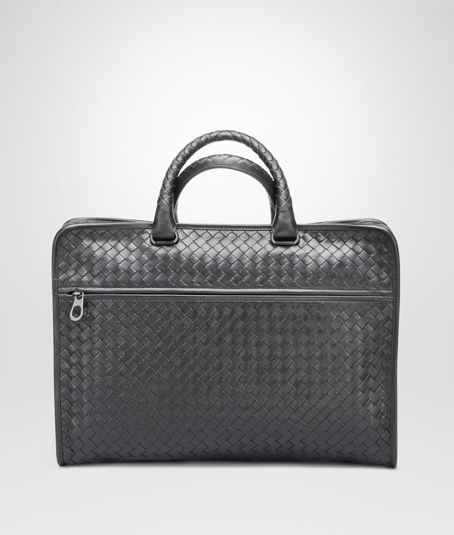 BOTTEGA VENETA BRIEFCASE IN ARDOISE INTRECCIATO CALF Business bag U fp