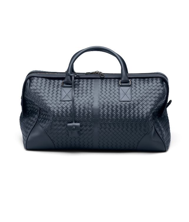 BOTTEGA VENETA Vermillon Intrecciato VN Medium Duffel Trolley and Carry-on bag E fp