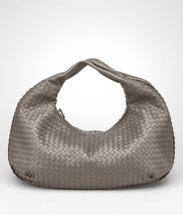 BOTTEGA VENETA Fume Intrecciato Nappa Bag Shoulder or hobo bag D fp