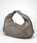BOTTEGA VENETA Fume Intrecciato Nappa Bag Shoulder or hobo bag D rp