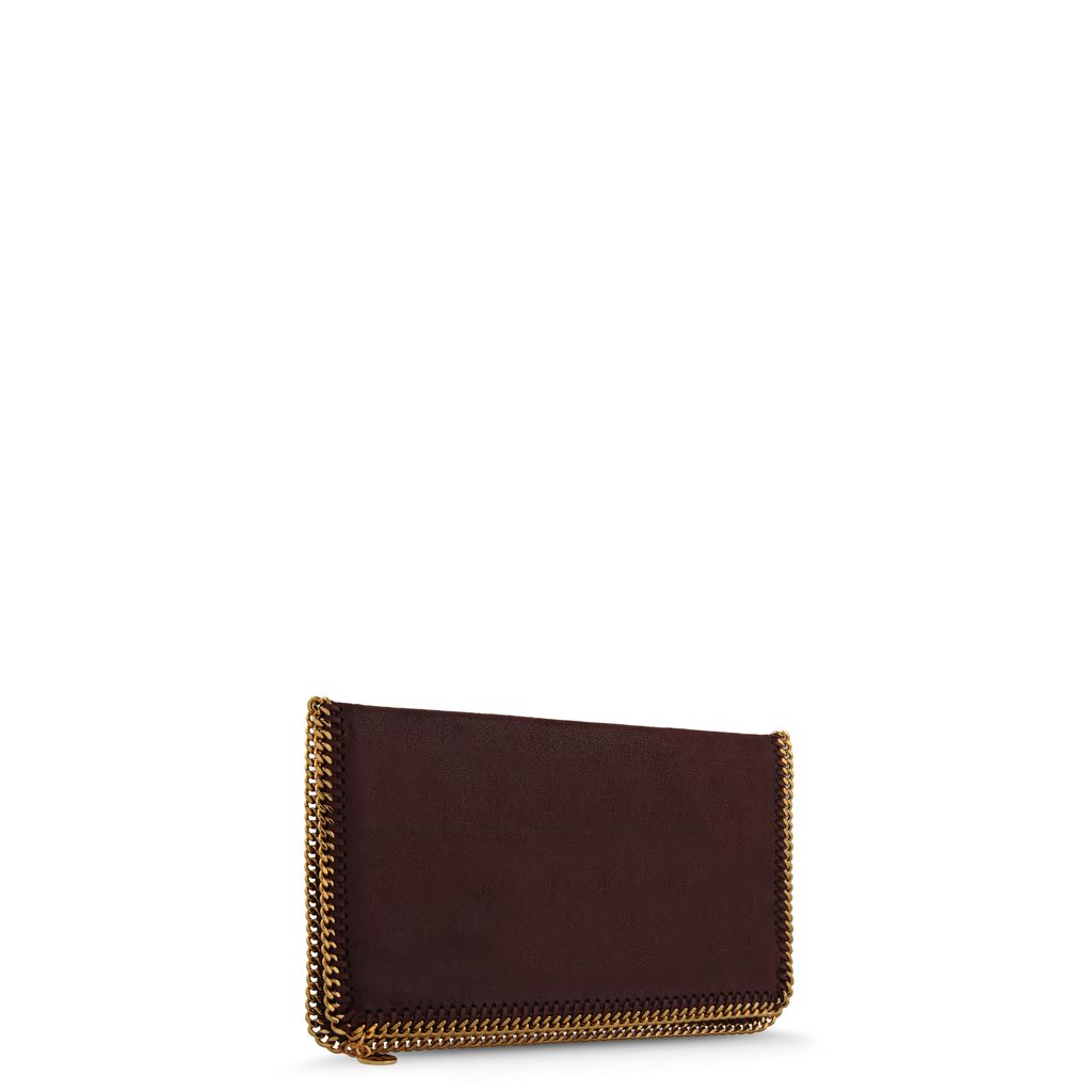 Clutch Falabella Fold Over en Shaggy Deer  - STELLA MCCARTNEY