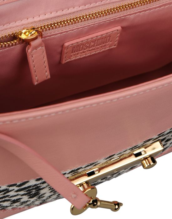 Medium leather bag Woman MOSCHINO CHEAP AND CHIC