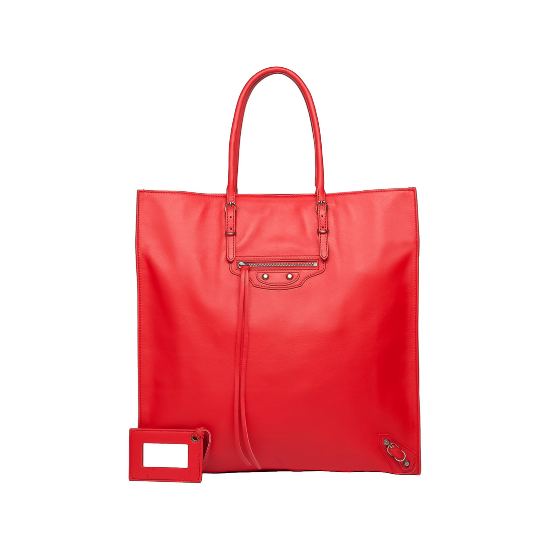 BALENCIAGA Balenciaga Papier Ledger Tote Bag D f