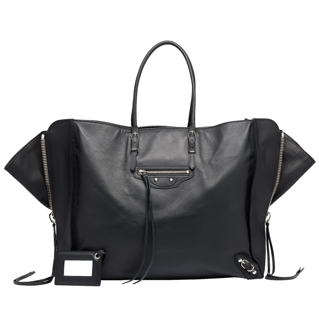 BALENCIAGA Balenciaga Papier A4 Zip Around Tote Bag D f