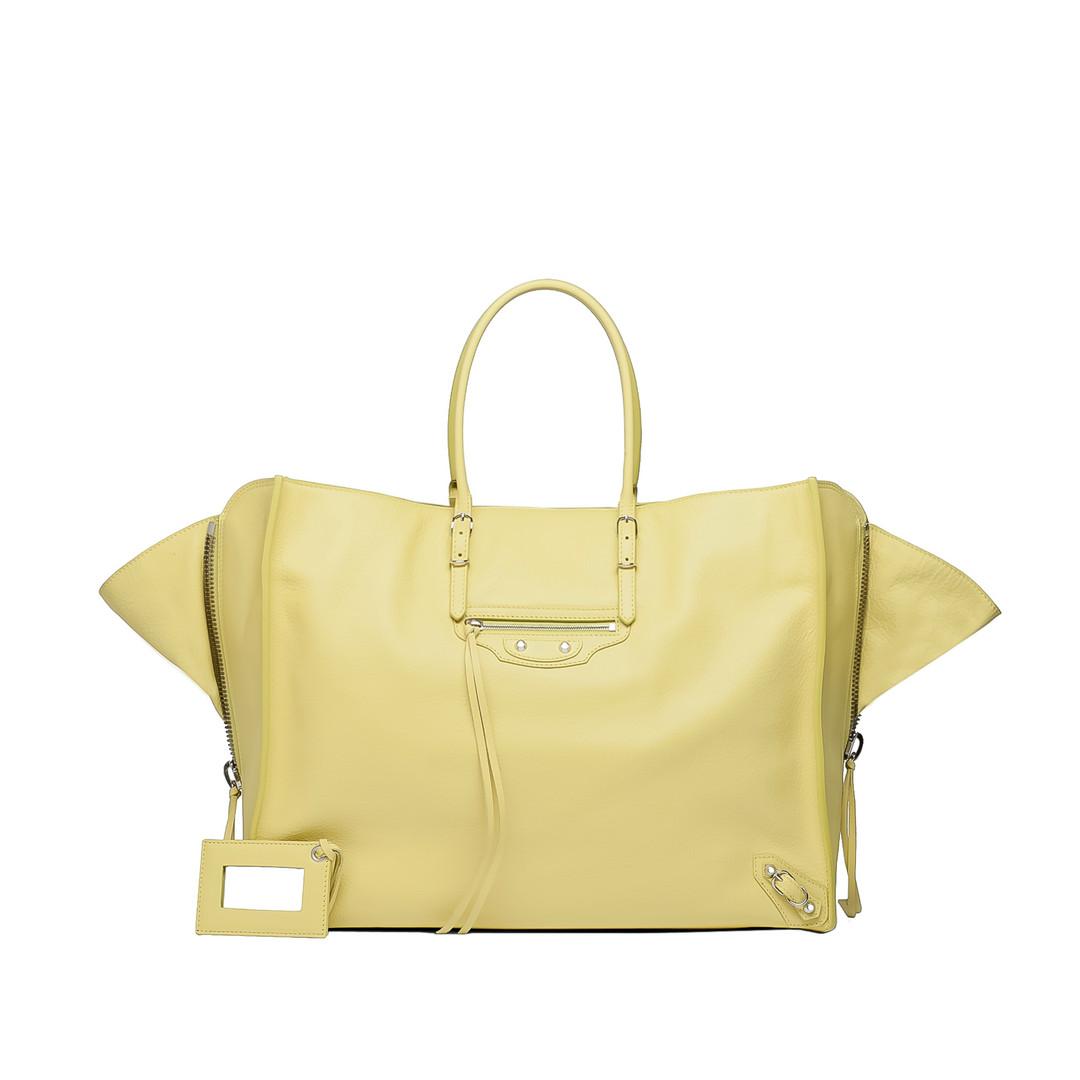 BALENCIAGA Balenciaga Papier A4 Zip Around Shopper D f
