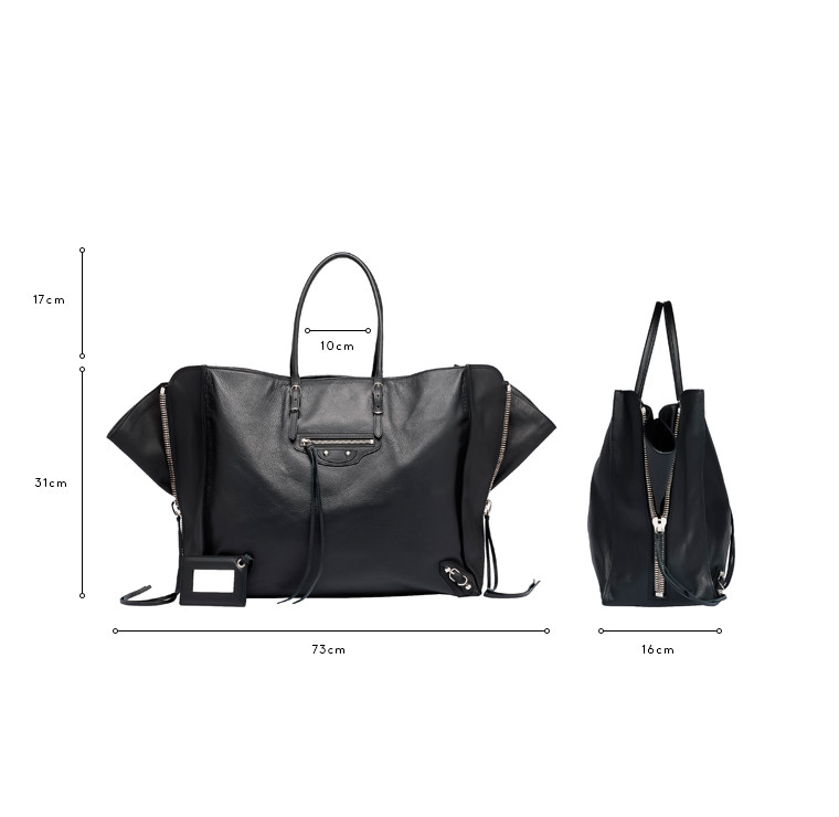 BALENCIAGA Tote Bag D Balenciaga Papier A4 Zip Around c