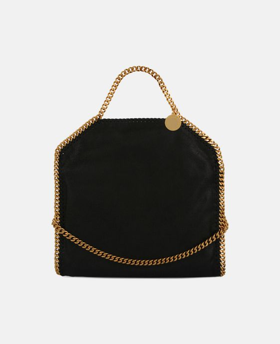 STELLA McCARTNEY Falabella Shaggy Deer Fold Over Tote Tote D c
