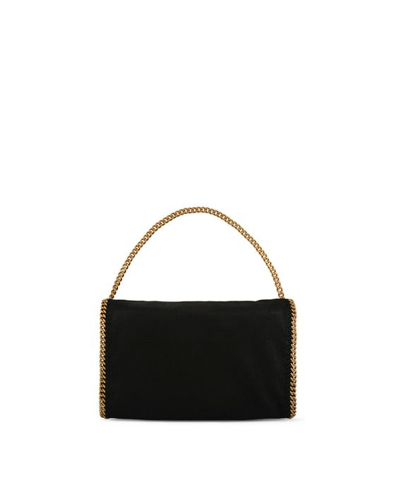 STELLA McCARTNEY Falabella Shaggy Deer Fold Over Tote Tote D i
