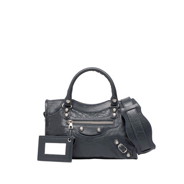 Balenciaga Giant 12 Mini City Argento