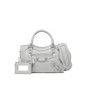 Balenciaga Giant 12 Silver Mini City