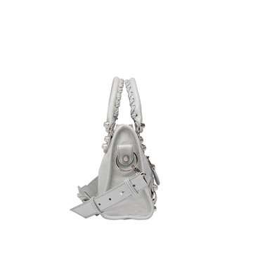 BALENCIAGA Cross body bag D Balenciaga Giant 12 Silver Mini City f