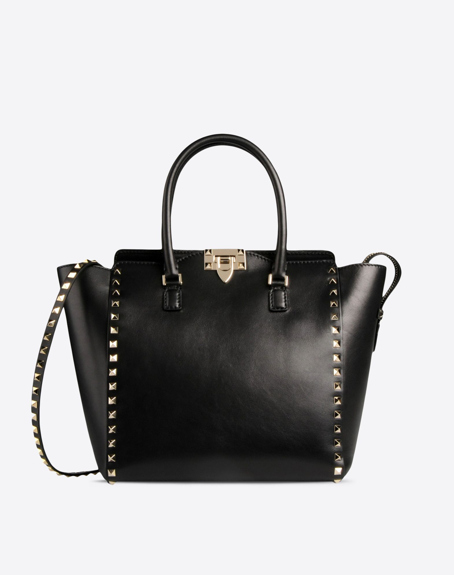 Valentino Rockstud Double-Pocket Backpack