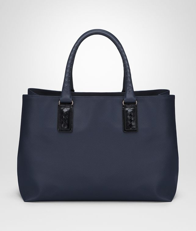 BOTTEGA VENETA TOTE BAG IN DARK NAVY MARCOPOLO Shopper E fp