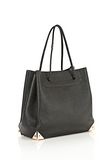 ALEXANDER WANG PRISMA LARGE TOTE IN PEBBLED BLACK WITH ROSE GOLD TOTE/DEL Adult 8_n_e