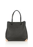 ALEXANDER WANG PRISMA LARGE TOTE IN PEBBLED BLACK WITH ROSE GOLD TOTE/DEL Adult 8_n_f