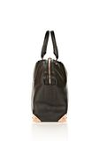 ALEXANDER WANG LARGE EMILE IN PEBBLED BLACK WITH ROSE GOLD  TOTE Adult 8_n_e