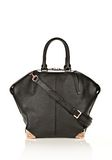 ALEXANDER WANG LARGE EMILE IN PEBBLED BLACK WITH ROSE GOLD  TOTE Adult 8_n_f