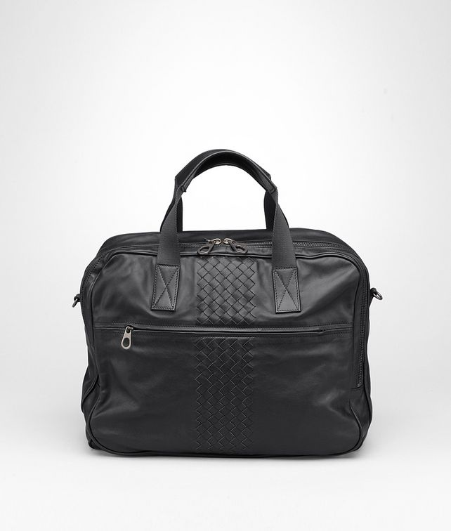BOTTEGA VENETA Informale Tote Nera in Light Calf Borsa Shopping U fp