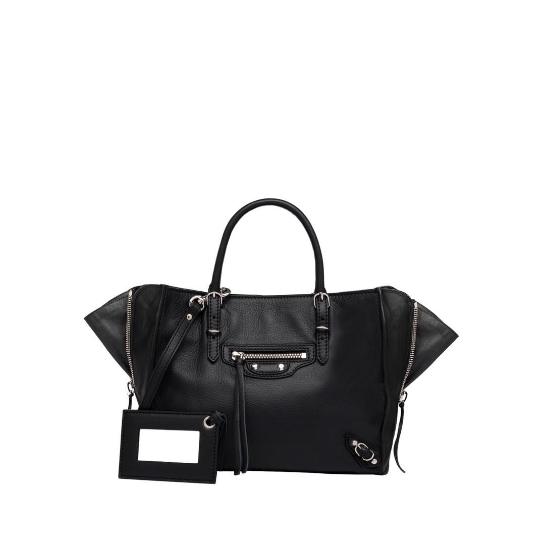 BALENCIAGA Balenciaga Mini Papier A4 Zip Around  Papier ZA Handbag D f