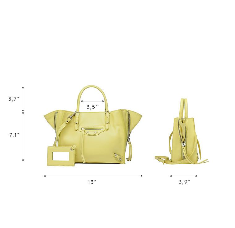 BALENCIAGA Papier ZA Handbag D Balenciaga Mini Papier A4 Zip Around  n