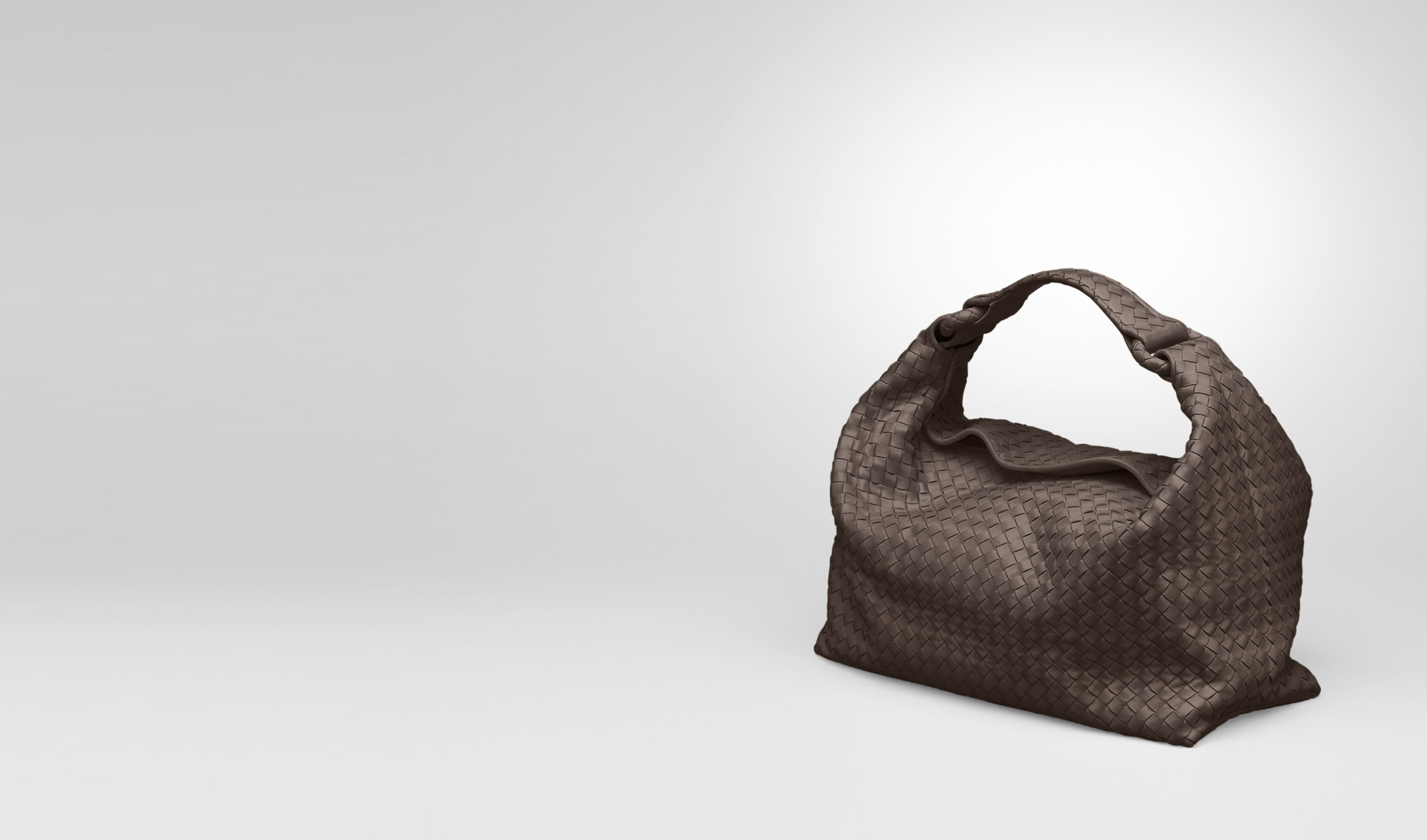 BOTTEGA VENETA Shoulder or hobo bag D Edoardo Light Calf Intrecciato Sloane Bag pl