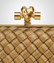 BOTTEGA VENETA KNOT IN ORO BRUCIATO INTRECCIO Clutch Woman ep