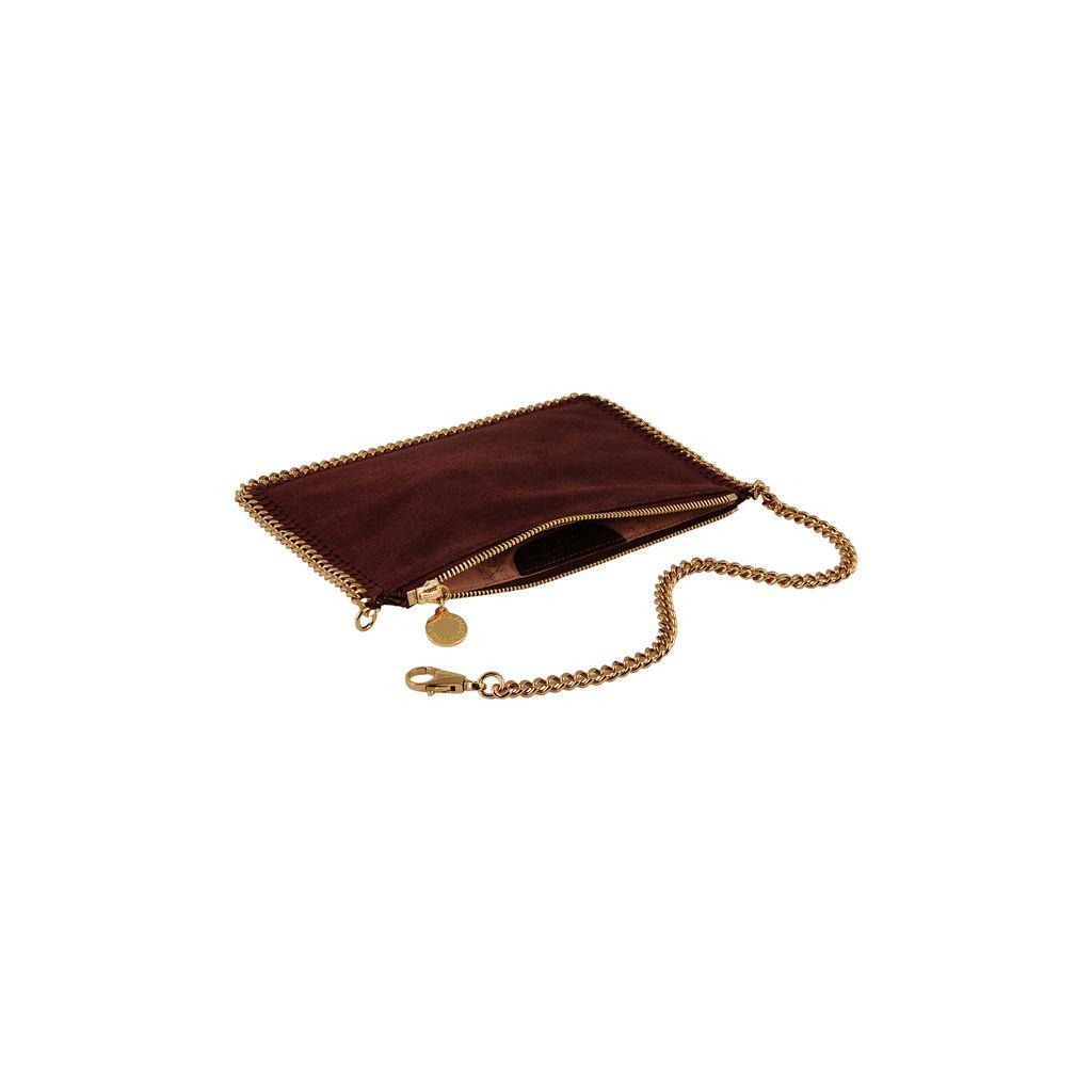 Kleine Geldbörse Falabella aus Shaggy Deer - STELLA MCCARTNEY