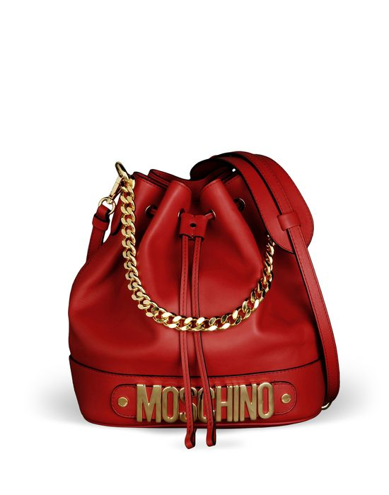 Borse A Mano Moschino : Moschino women medium leather bag