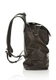 ALEXANDER WANG EXPLORER BACKPACK IN WAXY BLACK WITH MATTE BLACK BACKPACK Adult 8_n_e
