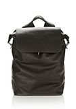 ALEXANDER WANG EXPLORER BACKPACK IN WAXY BLACK WITH MATTE BLACK BACKPACK Adult 8_n_f