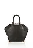 ALEXANDER WANG SMALL EMILE IN SOFT BLACK WITH ROSE GOLD TOTE Adult 8_n_e