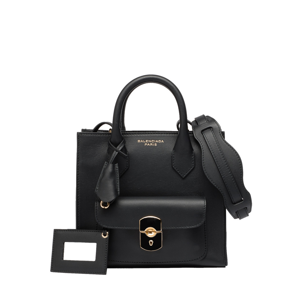 BALENCIAGA Balenciaga Padlock Mini All Afternoon Borsa a tracolla D f
