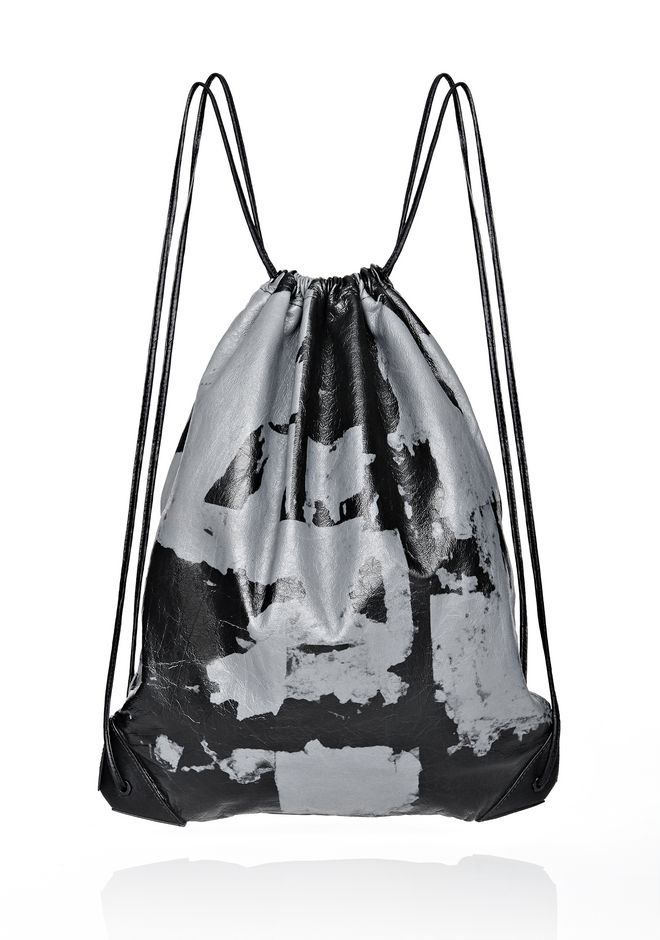 ALEXANDER WANG LIMITED EDITION SAMSUNG WALLIE GYM SACK BACKPACK Adult 12_n_f