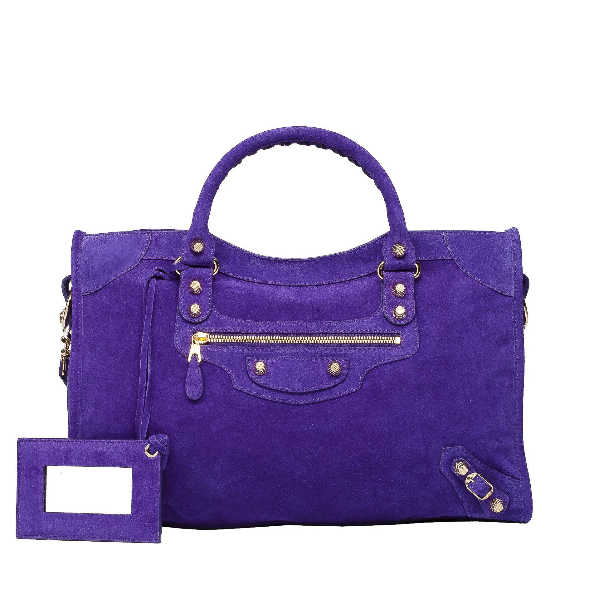 BALENCIAGA Balenciaga Baby Daim Giant Gold City Top handle bag D f