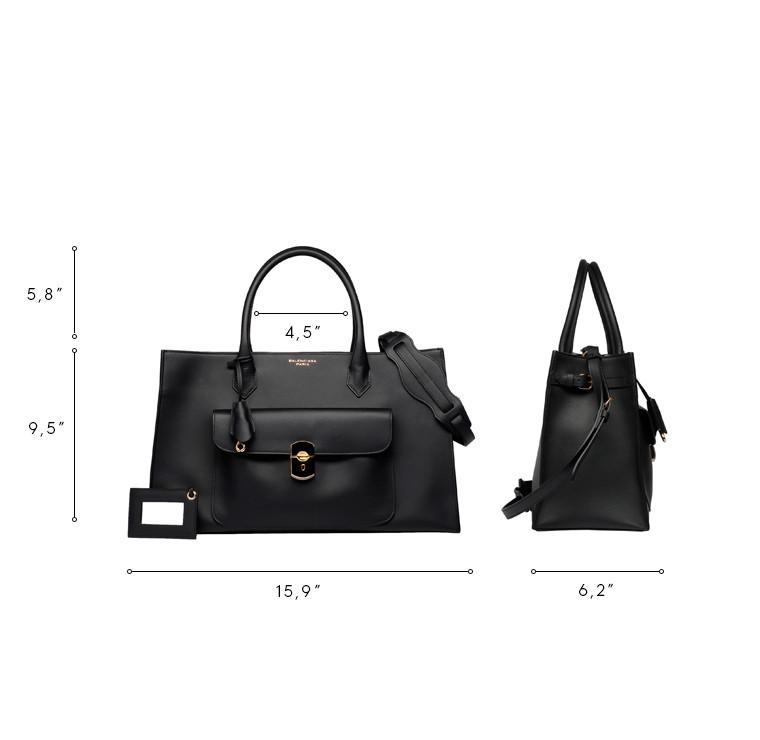 BALENCIAGA Top handle bag D Balenciaga Padlock Work S n