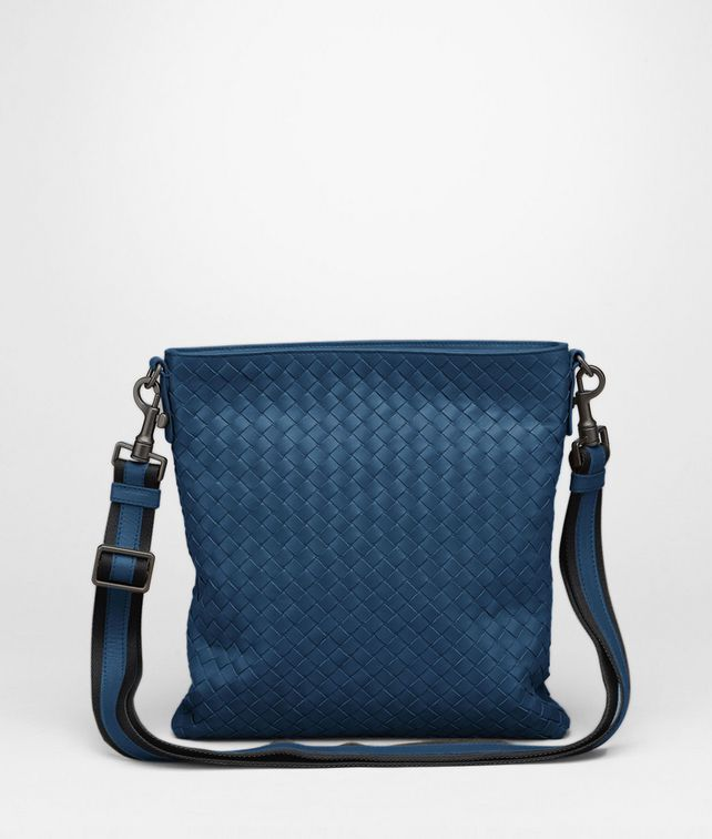 BOTTEGA VENETA Électrique Intrecciato VN Cross Body Messenger Messenger Bag U fp