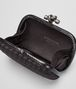 BOTTEGA VENETA KNOT CLUTCH IN NERO INTRECCIO IMPERO, AYERS DETAILS Clutch D dp