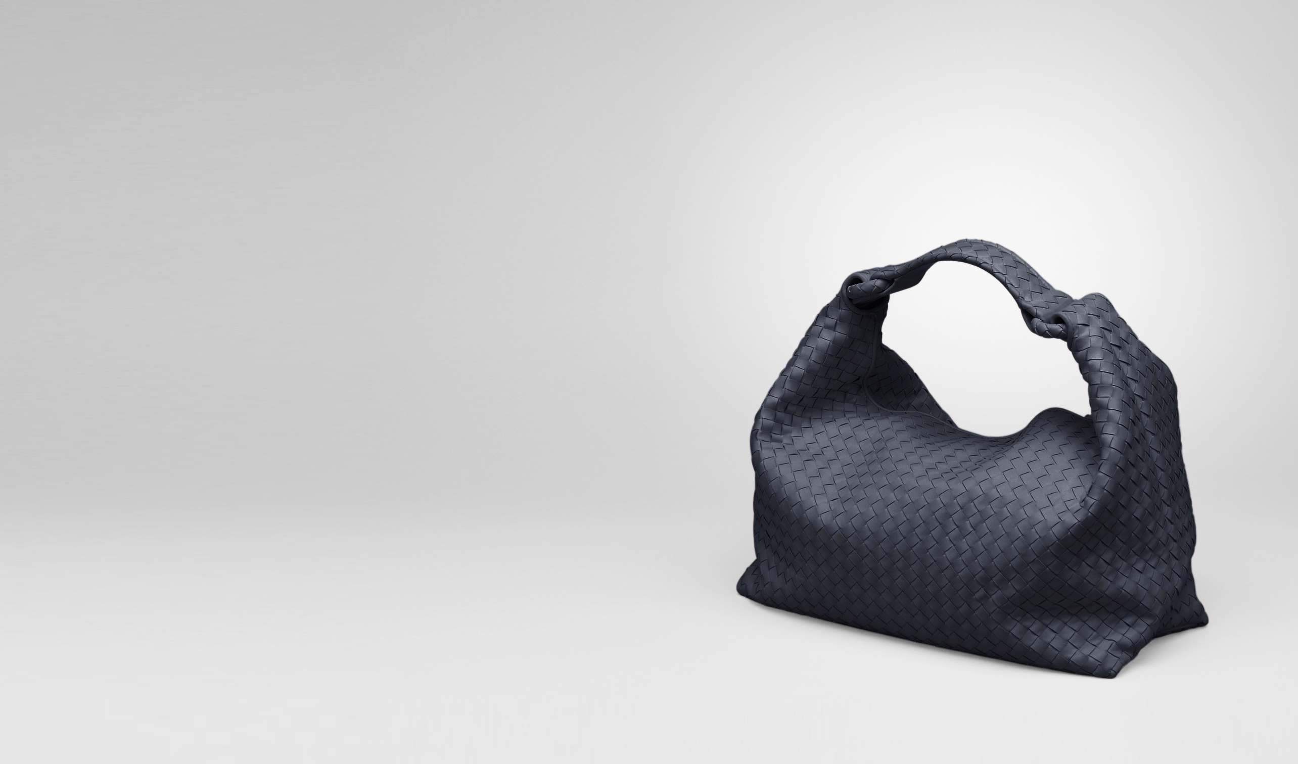BOTTEGA VENETA Borsa a spalla D Borsa Sloane Prusse in Light Calf Intrecciato pl