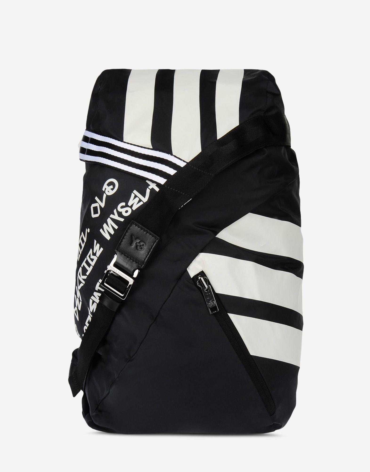 ... Y-3 Y-3 FS Stripe Backpack Backpack Man f ... 7a423e21a040b