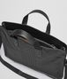 BOTTEGA VENETA BRIEFCASE IN NERO CALF, INTRECCIATO DETAILS Business bag Man dp