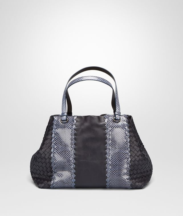 BOTTEGA VENETA MEDIUM TOTE BAG IN TOURMALINE NAPPA AND AYERS Tote Bag D fp