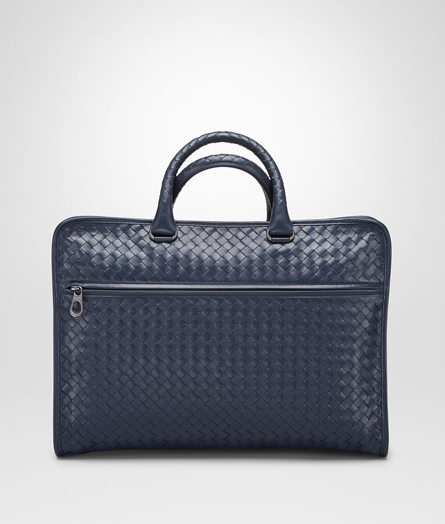 BOTTEGA VENETA AKTENTASCHE AUS INTRECCIATO KALBSLEDER IN PRUSSE Business Tasche [*** pickupInStoreShippingNotGuaranteed_info ***] fp